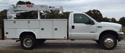 Ford : Other Pickups XL 2006 ford f 350 145 k miles liftmore crane truck service utility 11 ft pacific bed
