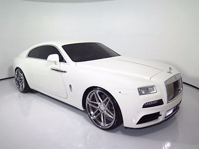 Rolls-Royce : Other 2dr Coupe 2015 rolls royce wraith mansory kit 24 gfg wls starlight headliner 2014 ghost