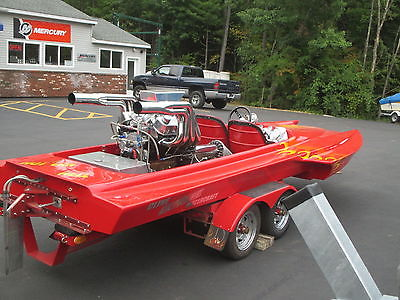2002 CLINE DRAG BOAT BB CHEVY V DRIVE SUPER CLEAN W/TRAILER 100 MPH PLUS