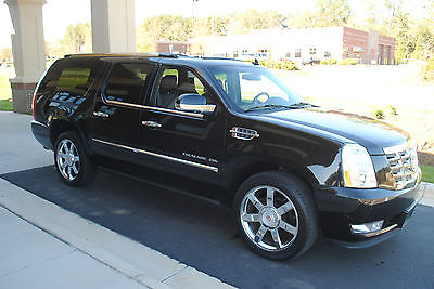 Cadillac : Escalade luxury 2013 cadillac escalade esv luxury black black every option available trade ins