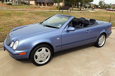 Mercedes-Benz : CLK-Class Very low mileage Mercedes CLK 320 convertible in excellent condition!