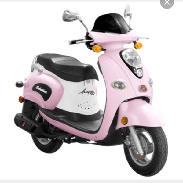 Schwinn Hope 150 Scooter with Helmet, only 35 original miles! Pink!