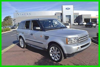 Land Rover : Range Rover Sport Supercharged 2008 supercharged used 4.2 l v 8 32 v automatic 4 wd suv premium moonroof