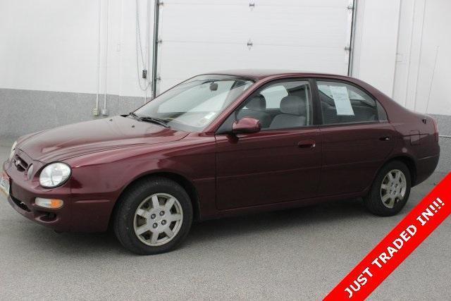 2001 Kia Spectra 4D Sedan