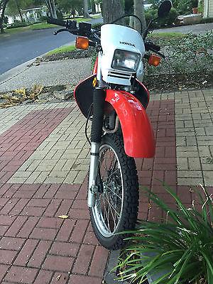 Honda : XR XR650 L 2008