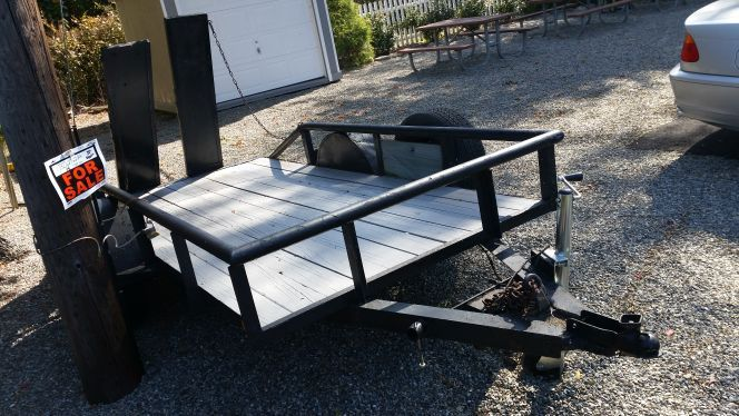 5x10 trailer rvs for sale for 5x10 wood floor trailer