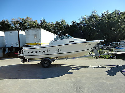 2001 21' Bayliner Trophy Walk-Around Cuddy with 2002 150Hp Mercury & Trailer