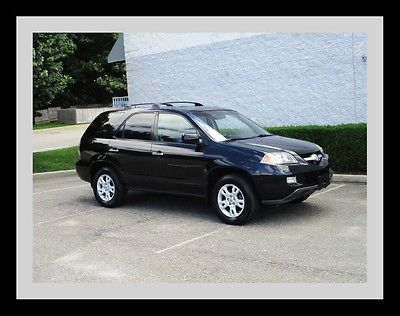 Acura : MDX Touring Third row seat Navigation Leather Moonroof Heated seats Low miles
