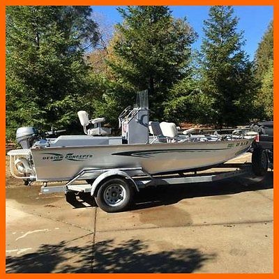 1999 Design Concepts River Angler 17.5' Fishing Boat with Trailer CALIFORNIA