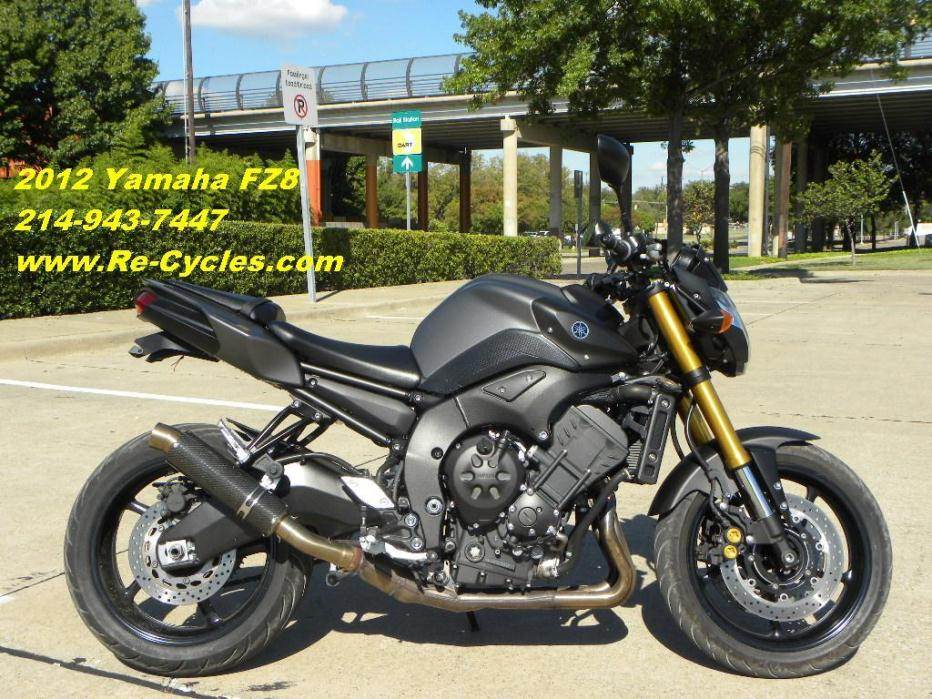 Yamaha fz8 motorcycles for sale in dallas texas for Yamaha of dallas