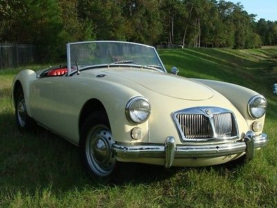 MG : MGA 1962 mg mga mark ii roadster with hardtop free ship