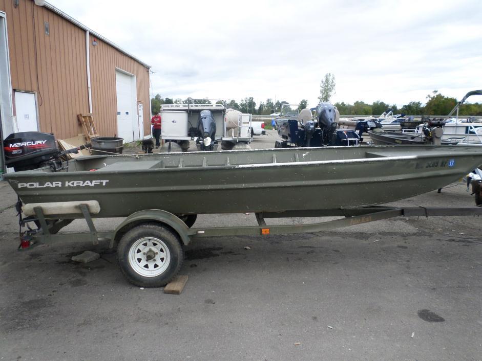 Polar kraft 1648 boats for sale for Jon boat with jet motor