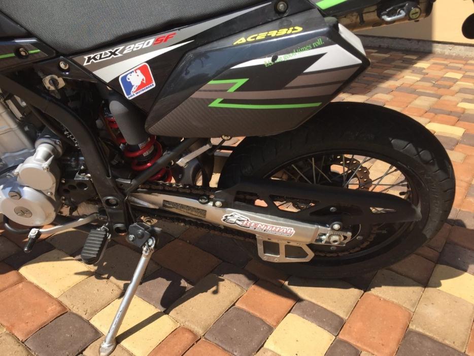Kawasaki Klxs Locking Gas Cap New