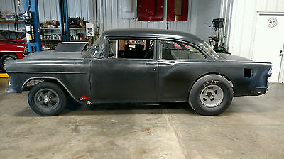 Chevrolet : Bel Air/150/210 1955 chevy gasser real deal old 60 s drag car