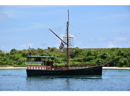 2010 Custom Custom Commercial H&H 40' Pirate Boat
