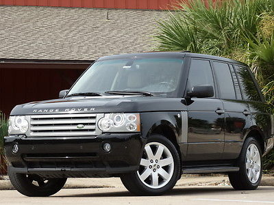 Land Rover : Range Rover LUXURY PKG 2008 land rover range rover hse luxury pkg tx one owner serviced running boards
