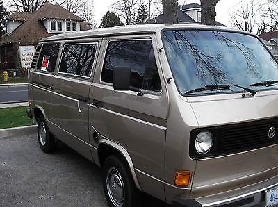 Volkswagen : Bus/Vanagon Brown 1981 volkswagen classic camper
