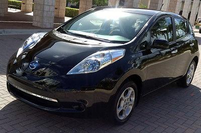 Nissan : Leaf SV 2013 nissan leaf sv navigation heated seats steering wheel sat radio warranty