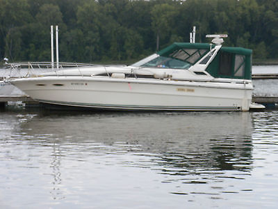 1989 Sea Ray 340 Express Twin 454 Inboards Fresh Water Use Only Loaded Trade