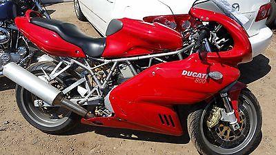 Ducati : Superbike 2005 ducati 800 sport bike runs and drives low miles