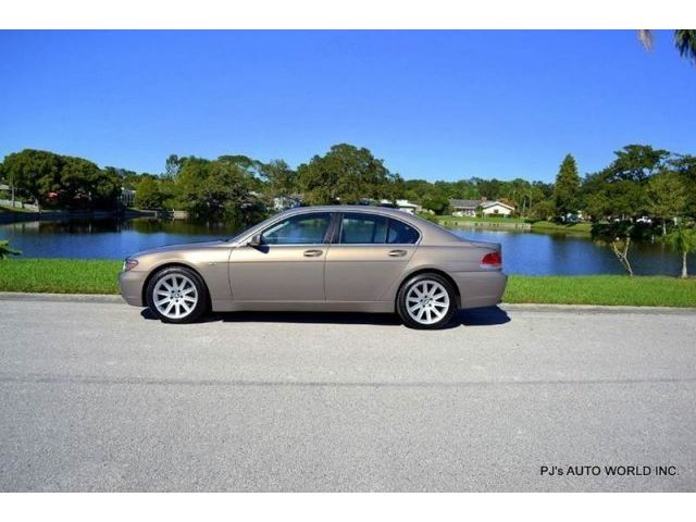 BMW : 7-Series 745i CLEAN FLORIDA CAR 54,665 MILES 4.4 V8 AUTOMATIC LEATHER INTERIOR NAVIGATION