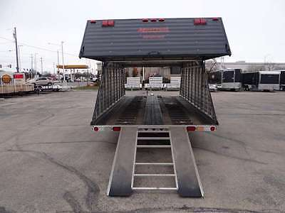 New 7 X 29 Enclosed Snowmobile Trailer 4 Place All Aluminum Dr