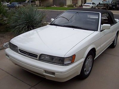 Infiniti : M30 Base Convertible 2-Door 1992 infiniti m 30 convertible 84 k immaculate condition rarest infiniti ever