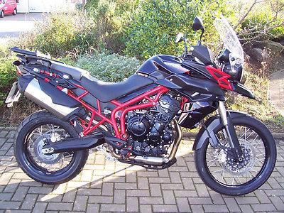 Triumph : Tiger Motorcycle