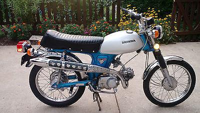 Honda : CL Honda CL70 K2 1972 Restored Using NOS Honda Genuine Parts