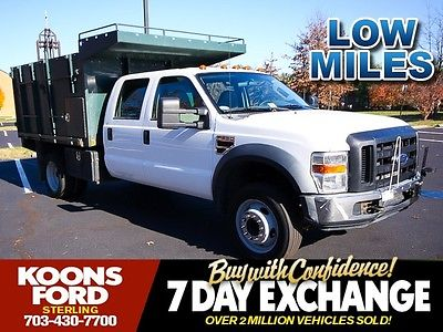 Ford : Other Pickups Lariat Great Work Dump Truck, side Tool Boxes, F-550, Ready to Go to Work