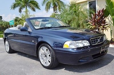 Volvo : C70 Convertible 2004 volvo c 70 convertible 53 k miles heated leather extensive service history