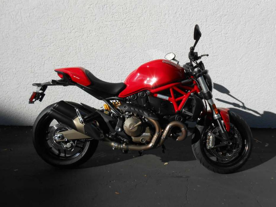 ducati monster 821 motorcycles for sale in fort myers florida. Black Bedroom Furniture Sets. Home Design Ideas