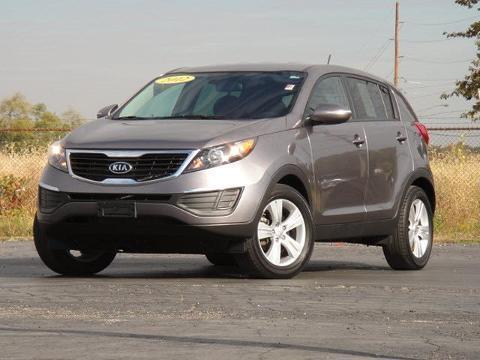 2012 KIA SPORTAGE 4 DOOR SUV