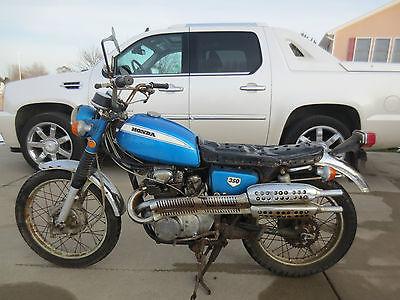 Honda : CL 1971 honda cl 350 scrambler