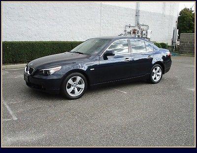 BMW : 5-Series 530xi Navigation 07 bmw 530 xi awd navigation clean car fax leather moonroof heated seats