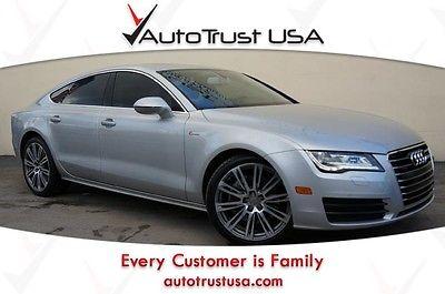 Audi : Other 3.0 Premium Plus 2012 audi a 7 3.0 prem plus clean carfax nav sunroof driver assist fully loaded