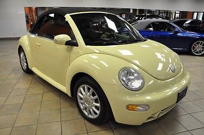 2005 Mellow Yellow Volkswagen Beetle Convertible Cars for sale