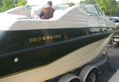 1997 Crownline 210CCR Cuddy Cabin 21ft Powerboat