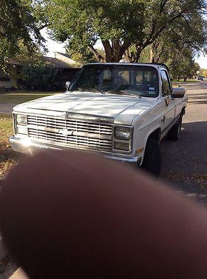 Chevrolet : C/K Pickup 2500 Scottsdale 1984 chevrolet k 20