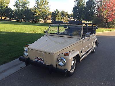 Volkswagen : Thing 1973 vw thing