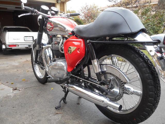 1968 BSA Lightning 650 A7