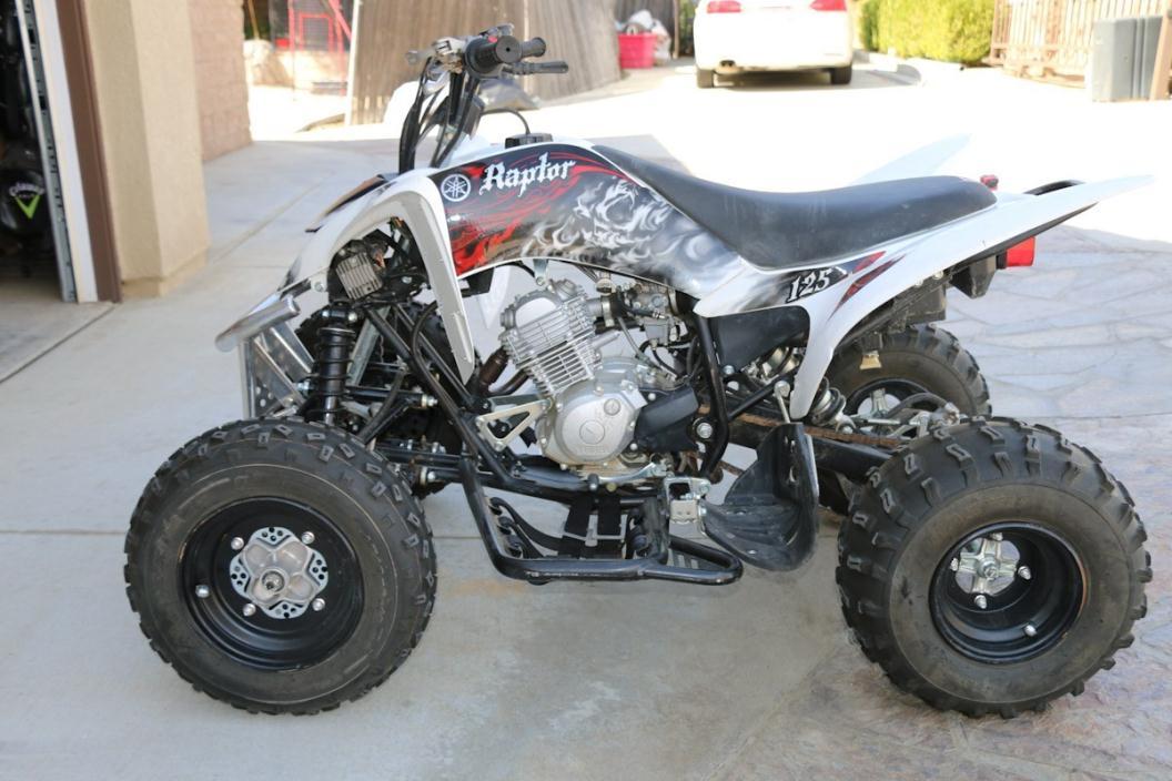 2017 Yamaha Raptor 125