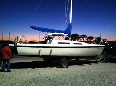 1983 Macgregor 25' Sailboat