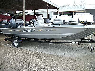 2014 SeaArk RXv186CC 90hp Yamaha 4 stroke  and trailer