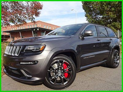 Jeep : Grand Cherokee SRT GRANITE CRYSTAL $7000 OFF MSRP! WE FINANCE 6.4 l harman kardon sound dual panoramic roof trailer tow pkg 20 wheels