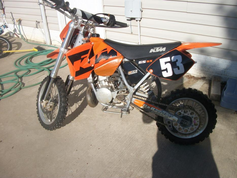 2004 Ktm 65 Sx Motorcycles For Sale