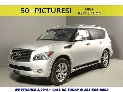 Infiniti : QX56 2012 QX56 NAV TECH DVD THEATER 7-PASS HEATSEATS XN 2012 infiniti qx 56 nav tech dvd theater 7 pass heatseats sunroof leather xenons