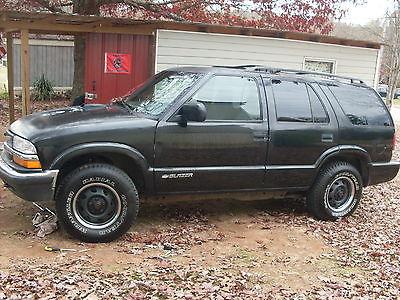 Chevrolet : Blazer LS Sport Utility 4-Door 2001 blazer all new parts but needs work