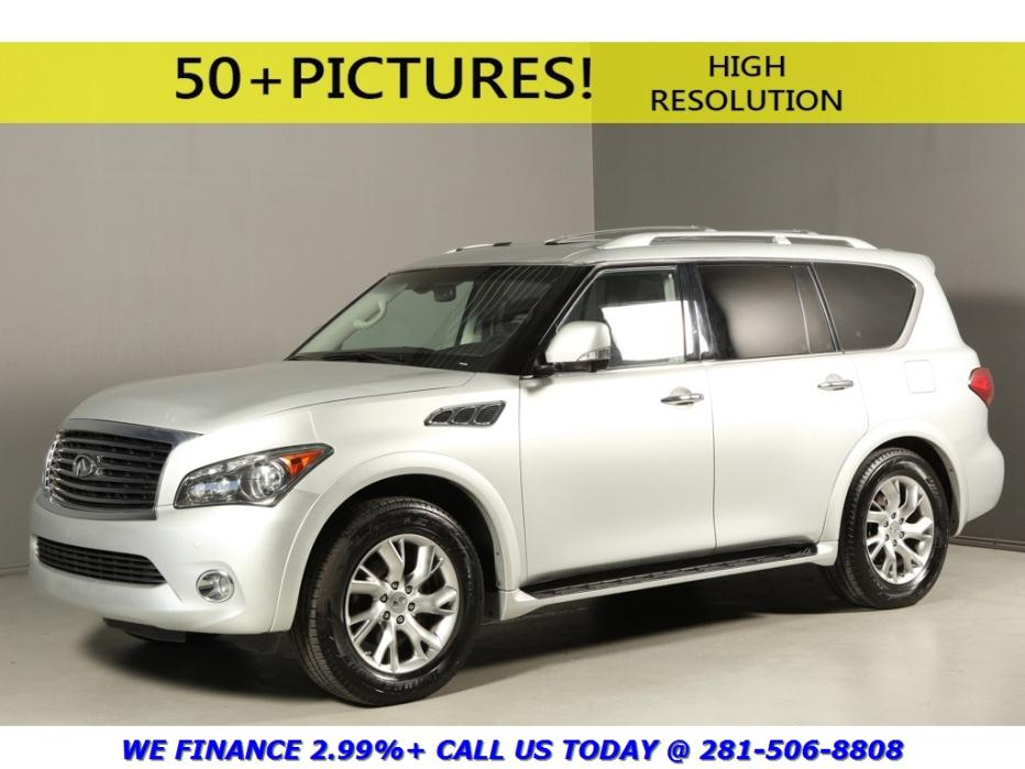 Infiniti : QX56 2012 NAV TECH DVD THEATER 7PASS HEATSEATS 360CAMRA 2012 qx 56 nav tech dvd theater 7 pass heatseats xenons bose 360 camera leather