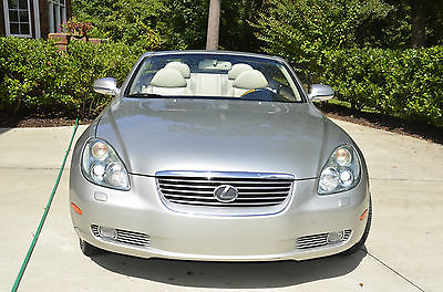 Lexus : SC 430 Lexus SC430 2005 silver exterior, cream interior,chrome wheels, runflat tires